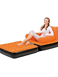 Inflatable Sofa Portable Foldable Compact Stretchy Travel Rest Flocked Flocking for Camping Camping / Hiking / Caving All Seasons