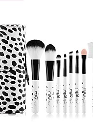 cheap -1set Makeup Brush Set Synthetic Hair Cute Easy Carrying Easy to Carry Wood Men Face Men and Women Eyes Lips Lip Health&Beauty General use