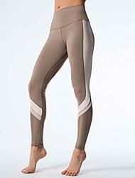 Da donna A vita medio-alta Sensuale Divertente Attivo Media elasticità Chino Pantaloni della tuta Pantaloni,Taglia piccola Tinta unita