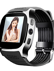 cheap -Smartwatch iOS / Android Pedometers / Hands-Free Calls / Camera / Distance Tracking / Information Timer / Pedometer / Call Reminder / Fitness Tracker / Activity Tracker / 0.3 MP / Sleep Tracker
