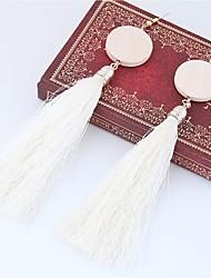 cheap -Women's Tassel Drop Earrings - Tassel, Fashion Red / Green / Pink For Daily / Casual
