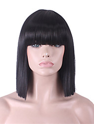 cheap -New Wig Cosplay Animated Wig Cool Gems Blue Gradient Long Curls 26inch