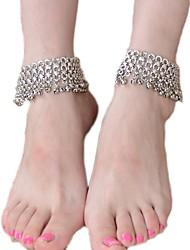 Недорогие -сплав декоративный акцент с алмазом для ног