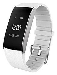 cheap -Smart Bracelet Smartwatch for iOS / Android Heart Rate Monitor / Blood Pressure Measurement / Calories Burned / Long Standby / Water Resistant / Water Proof Pedometer / Call Reminder / Sleep Tracker