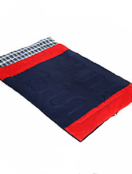 Недорогие -Спальный мешок Прямоугольный Двуспальный комплект (Ш 200 x Д 200 см) -10-5 Пористый хлопокX145 Отдых и Туризм Сохраняет тепло