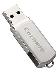 Caraele metallo rotativo grigio usb2.0 64gb flash drive disk memory stick u