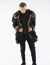 Fur trim coats