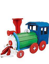abordables -Puzzles 3D Puzzle Traîne Articles d'ameublement A Faire Soi-Même En bois Bois Classique Enfant Cadeau