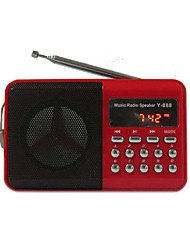 cheap -Yimeida Y-888 Portable Radio Free Song TF Card Large Volume