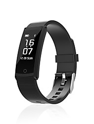 cheap -0.96 Inch Screen Smart Bracelet Water Proof Long Standby Calories Burned Pedometers Heart Rate Monitor for Ios Android Mobile Phone