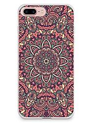 billige -Etui til iPhone 7 6 mandala tpu blødt ultra-tyndt bagside cover cover iphone 7 plus 6 6s plus se 5s 5 5c 4s 4