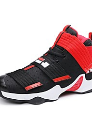 cheap -Men's Fabric Summer / Fall Comfort Athletic Shoes Basketball Shoes Black / Gold / Black / White / Black / Red