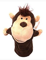 abordables -juguetes de peluche Marioneta de Dedo Juguetes Caballo Cow Hipopótamo Mono Venados Animales Tela de algodón Niño Adulto Piezas