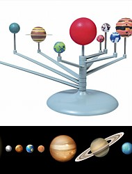 Children Educational DIY Nine Planets in Solar System Planetarium Painting Science Teaching Toys  Model Kit Astronomy  Project Kids Gift