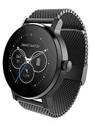 economico -yy sma9 donna smartwatch monitor di frequenza cardiaca intelligente bluetooth orologio per ios telefono androide