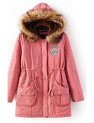 12 Colors New Women's Winter Lambs Wool UpsetJacket Women Cotton Candy Color Parkas s Winter Hooded Jacket Fashion Girls Padded Slim Long Coat Jackets