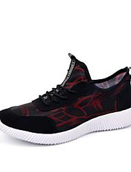 Недорогие -Для мужчин Спортивная обувь Для фитнеса Удобная обувь Дышащая сетка Весна Осень Атлетический Повседневные На эластичной лентеНа плоской