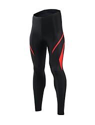Arsuxeo Pantaloni da ciclismo Per uomo Bicicletta Pantaloni Asciugatura rapida Tessuto sintetico Elastene Classico Ciclismo/Bicicletta