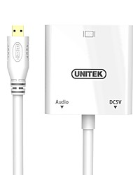 preiswerte -Unitek HDMI Micro Adapter, HDMI Micro to VGA Adapter Male - Female 0,15m (0.5Ft)