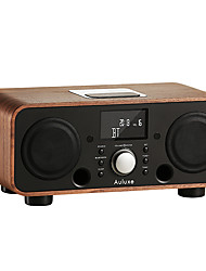 AW3021 Radio Despertador Reproductor MP3 Tiempo de dormir Bluetooth Negro Marrón Rosa