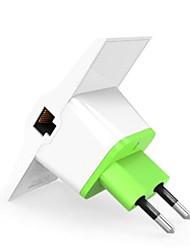 Vonets vrp300 - amplificatore di segnale wifi ripetitore 2.4ghz 300mbps doppio lan uscite plug eu