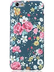 Für iPhone X iPhone 8 Hüllen Cover Muster Rückseitenabdeckung Hülle Blume Weich TPU für Apple iPhone X iPhone 8 Plus iPhone 8 iPhone 7