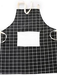 cheap -1 Pc  Nordic Stylelattice Cotton Cloth Apron Kitchen Accessories