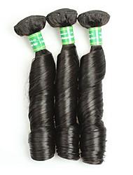 cheap -Mink Brazilian Virgin Hair Bouncy Curly 3 Bundles Unprocessed Virgin Human Hair Extensions Brazilian Hair Weave Bundles