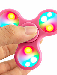 cheap -Fidget Spinner Hand Spinner Spinning Top Relieves ADD, ADHD, Anxiety, Autism Focus Toy Stress and Anxiety Relief LED Light Novelty