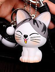 Saco / telefone / chaveiro encantos gato cartoon brinquedo telefone correia bola sino pvc