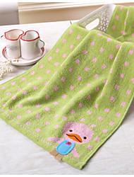 Недорогие -Полотенца для мытья,Животные Высокое качество 100% хлопок Полотенце