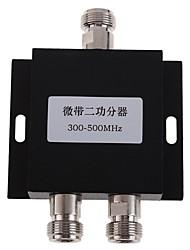 Divisore di potenza a 2 vie divisore dell'amplificatore del segnale 300-500mhz per ripetitore di ripetitore del segnale di telefono