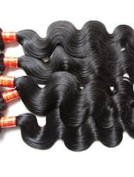 Оптовый малайзийский vingin волна волос тела 1kg 10bundles много естественный малайзийский цвет волос человека цвет мягкий и ровный weaves