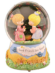 cheap -Balls Music Box Crystal Round Furnishing Articles Women's Gift