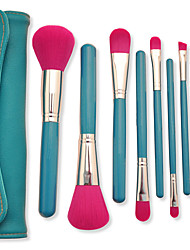 Fashion Style 9PCS Classic Cosmetic Brush Set Cosmetic Brush PU High Quality