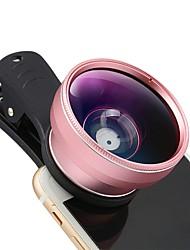 Lentes de câmera momax smartphone grande angular 20x lente de olho de peixe macro lente focal longa para iphone 7 plus