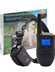 Pet Dog Training Collar Rechargeable Waterproof Dog Electronic Shock Training Collar 183-1