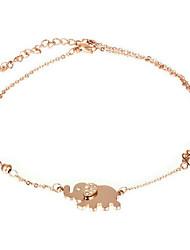 cheap -Women's Anklet/Bracelet Titanium Bohemian Adjustable Animal Shape Jewelry For Party Birthday Graduation