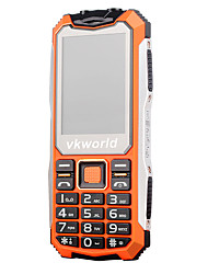 cheap -vkworld V3S 2.4 inch Ultra-long Standby Time (32MB  32MB 0.3MP battery 2200mAh)