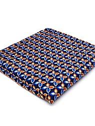 PH14 Unique New Business Men's Pocket Square Handkerchiefs Blue Floral 100% Silk Wedding Casual