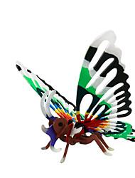 abordables -Puzzles 3D Puzzle Papillon Animal Articles d'ameublement A Faire Soi-Même En bois Bois Classique Enfant Cadeau