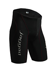 cheap -Jaggad Men's Cycling Padded Shorts Bike Padded Shorts / Chamois / Bottoms Solid Colored Spandex Black / Red Bike Wear