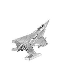 Kit de Bricolage Puzzle Puzzles en Métal Jouets Tank Avion Chasseur 3D A Faire Soi-Même Articles d'ameublement Non spécifié Pièces