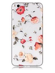 economico -Cassa per telefono huawei p10 lite p8 lite (2017) cassa del telefono tpu materiale mattina gloria modello verniciato cassa del telefono p9