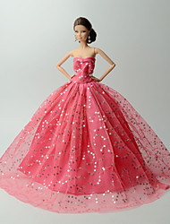 economico -Abiti Per Bambola Barbie Abiti Per Ragazza Bambola giocattolo
