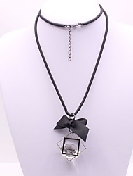 Women's Pendant Necklaces Imitation Diamond Geometric Alloy Fashion Classic Jewelry For Party Gift Daily Evening Party Stage