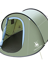 economico -HUILINGYANG 2 persone Tende a igloo e canadesi Unico strato Automatico A cupola Tenda da campeggio Esterno Antivento, Ompermeabile, Ripiegabile per Escursionismo / Campeggio 2000-3000 mm Vetroresina