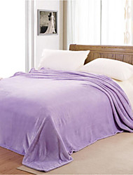 cheap -Super Soft, Printed Solid Colored Polyester Blankets