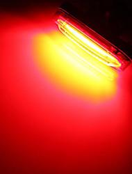 baratos -luzes de fim de bar / Luz Traseira Para Bicicleta / luzes de segurança LED Luzes de Bicicleta - Ciclismo Impermeável, Recarregável, Tamanho Pequeno Bateria de Lítio 50 lm Bateria Campismo / Escursão