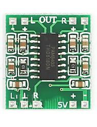 Placa do amplificador pam8403